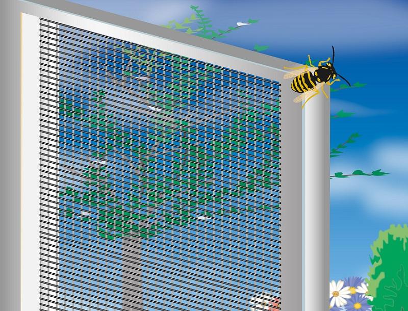 Insektenschutz_Fliegengitter_, Als Schutz vor lästigen Mücken aller Art