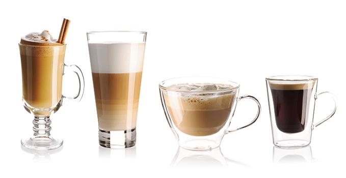 Im Prinzip besteht der Latte Macchiato zu einem Dreiviertel aus Milch und einem Viertel aus Espresso. (#06)