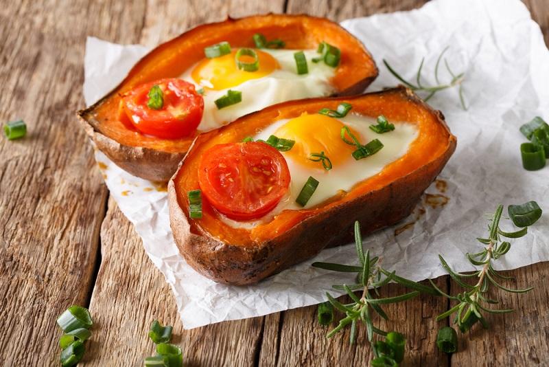 Die Süßkartoffelnudeln sind eine interessante Alternative oder Ergänzung zu Gemüsenudeln.(#04)