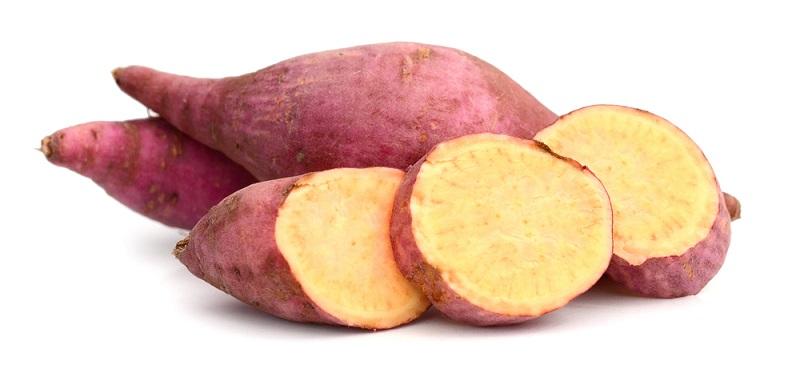 Die Japaner lieben Süßkartoffeln und essen sie oft auch roh. (#01)