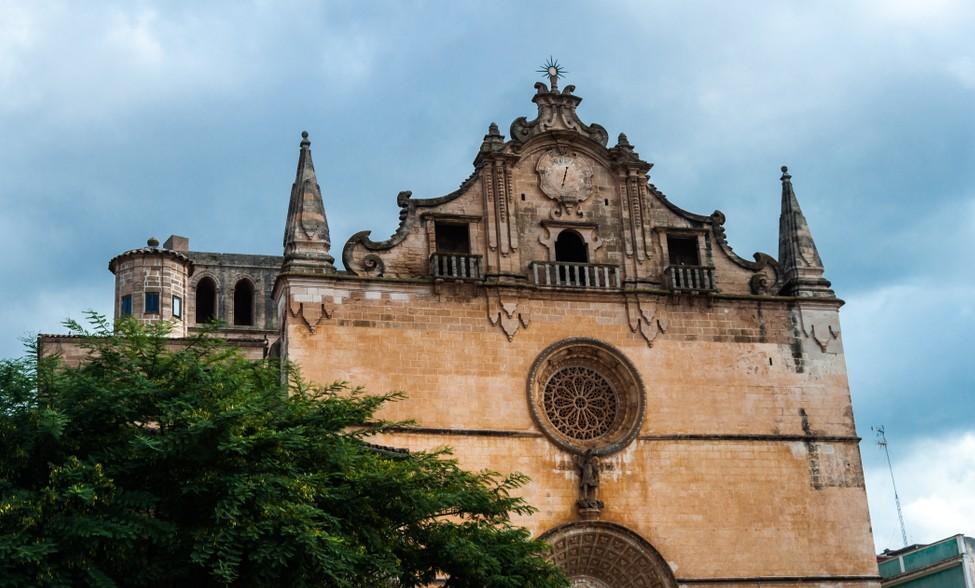 Auch die Kirche San Miguel liegt in Felanitx , nahe dem Glückshotel Mallorca. (#2)