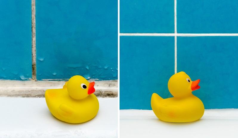 Fliesenfugen effektiv reinigen: So ein Horrorbad möchte keiner sehen und sich schon gar nicht darin aufhalten.