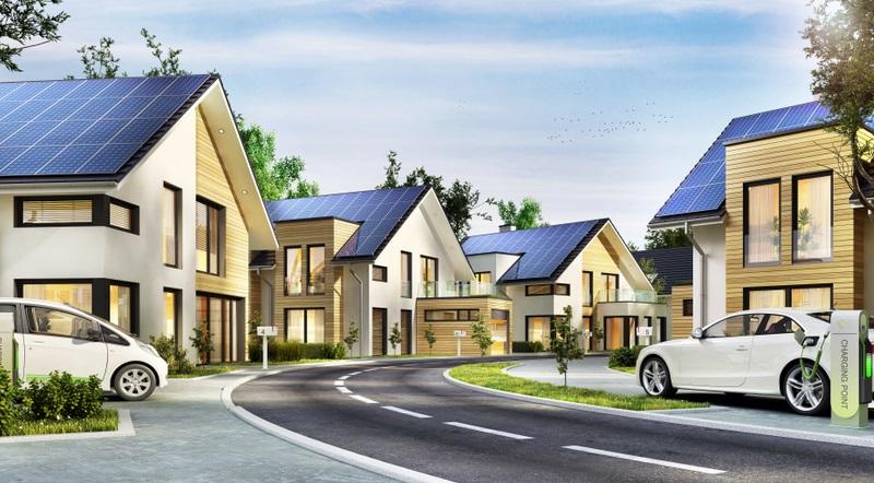 Solarmodule sind auf dem Markt bereits ab 5000 Euro erhältlich. Für die Anschaffung und den Einbau existiert eine staatliche Förderung. ( Foto: Shutterstock-Slavun )